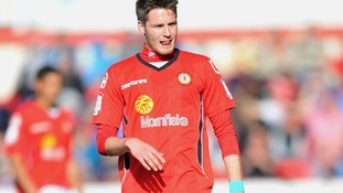 Nick Powell Crewe footballer