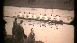 Anniversary of Oxford-Cambridge boat race in Ely