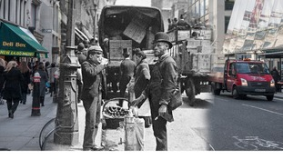 Cheapside 1893 and 2014