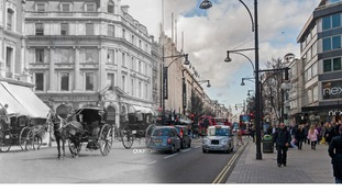 Oxford Street c.1903 and 2014