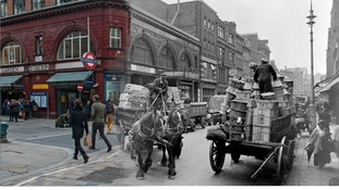Covent Garden c.1930 and 2014