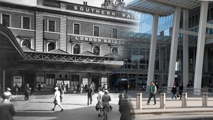 London Bridge c.1930 and 2014