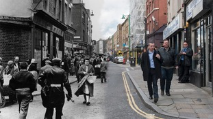 Brick Lane 1957 and 2014
