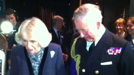 Prince of Wales tours Mary Rose Museum
