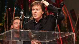Sir Paul McCartney wins 'songwriter's songwriter' at NME Awards