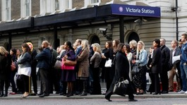 London railway stations are country's busiest