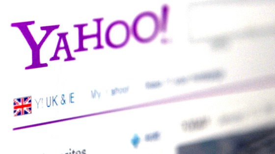 A generic view of the Yahoo! Homepage.