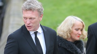 Manchester United's David Moyes - formerly a player and manager at Deepdale - attended the ceremony