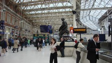 The concourse at Waterloo Station