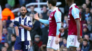 Nicolas Anelka used the gesture during a 3-3 draw with West Ham