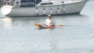 Torquay canoe