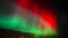 Spectacular Northern Lights illuminate Britain