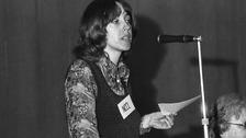 Patricia Hewitt in 1974.