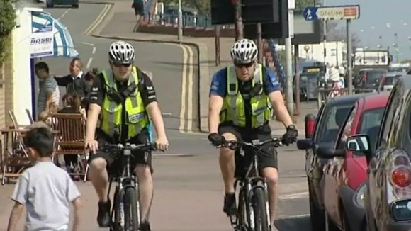 Around 25 officers in Southend are trained on bikes