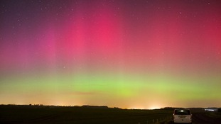 Northern Lights over Towton