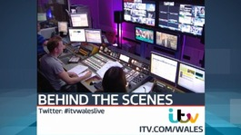 Behind the scenes with ITV's Wales news and programmes
