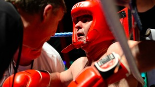 Boxers in the ring at last year's event