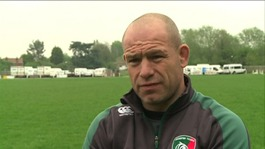 Leicester Tigers boss Richard Cockerill is ready for Twickenham final