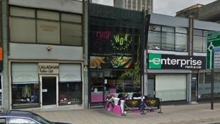 The Chop and Wok in Suffolk Street, Birmingham city centre