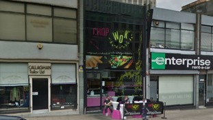 The Chop and Wok in Suffolk Street, Birmingham city centre
