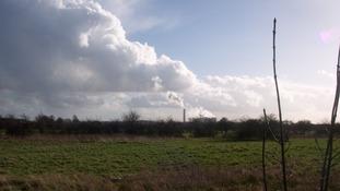 Toton, looking towards Ratcliffe-on-Soar
