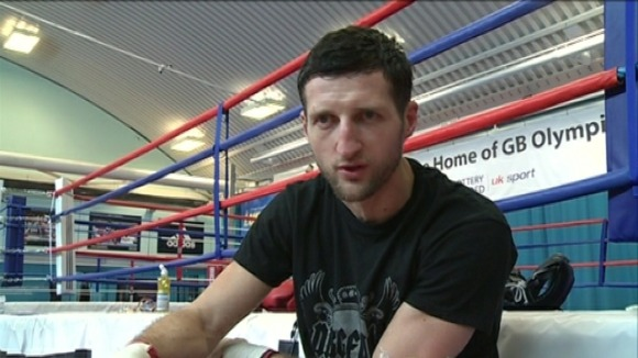 Froch in training