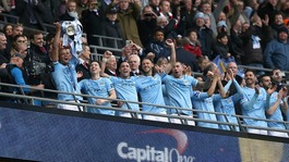 Manchester City win the Capital One Cup Final