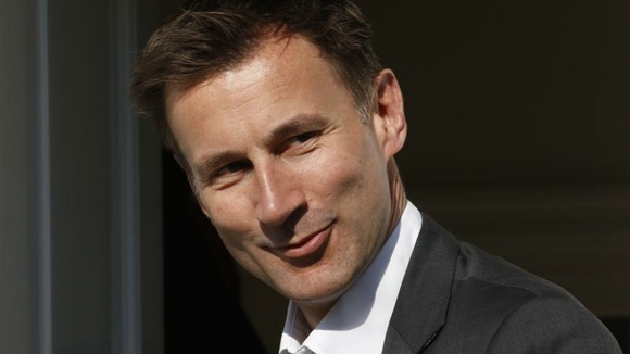 The Culture Secretary Jeremy Hunt