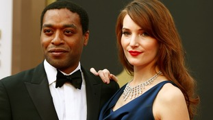 Chiwetel Ejiofor, best actor nominee for his role in 12 Years a Slave.
