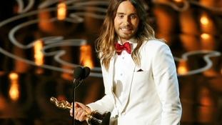 Jared Leto was named Best Supporting Actor for his role in Dallas Buyers Club.