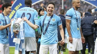 Samir Nasri speaks of his pride and joy after Wembley win