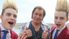 Engelbert Humperdinck rehearsing for the final of the 2012 Eurovision Song Contest 