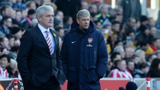 Arsene Wenger: Losing to Stoke is a big worry