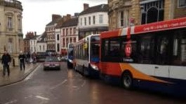 Emergency works ensure no repeat of bus chaos