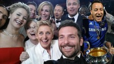 John Terry is shown edited into the Ellen DeGeneres Oscars selfie