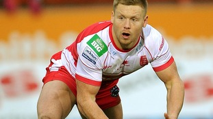 Sean Gleeson in action for Hull KR