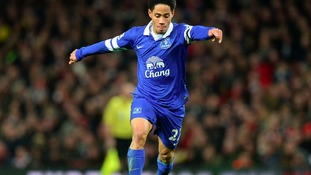 Everton player