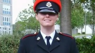 Corporal Anne-Marie Ellement, who committed suicide in October 2011