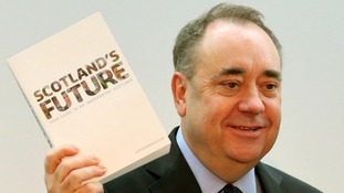 File photo of Scotland's First Minister Alex Salmond.