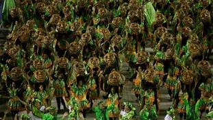 The Imperio da Tijuca samba school's costumes were particularly memorable.