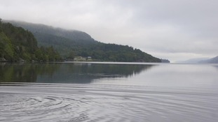 File photograph of Loch Ness in Scotland.