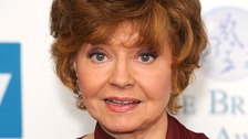 Fawlty Towers star Prunella Scales.