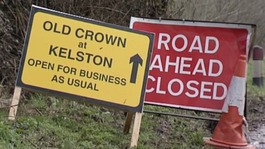 Kelston Road re-opens after months of repair work