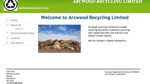 The Arcwood Recycling Ltd homepage