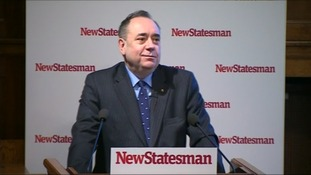 Alex Salmond speaking on Tuesday night in Westminster