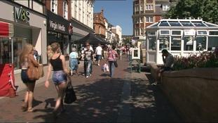 Bedford town centre is a Portas Pilot.