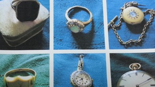£100,000 worth of jewellery was stolen during the raid.