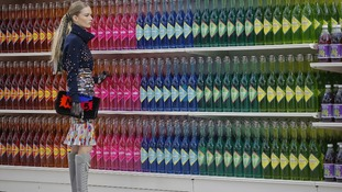 A supermarket sweep! Chanel show leaves fashion world in a frenzy