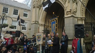 St Piran's Day celebrated in Cornwall