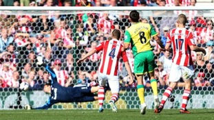 Norwich City will be hoping to do the double over Stoke City.